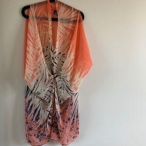 Dress/ beach slip